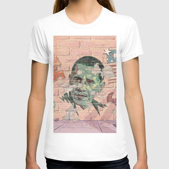 Obama Wall T-shirt