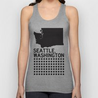 SEATTLE WASHINGTON Unisex Tank Top