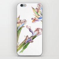 Dying Iris iPhone & iPod Skin