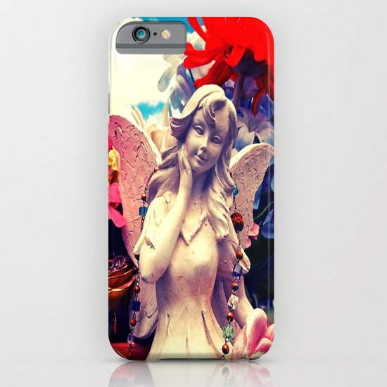 Angel's flowers iPhone & iPod Case