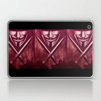 RED for VENDETTA Laptop & iPad Skin