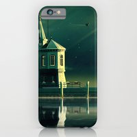 iPhone Cases featuring Castle in the Water by Schwebewesen • Romina Lutz