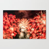 Fireworks - Philippines 9 Canvas Print