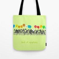Birds of Symphony Tote Bag