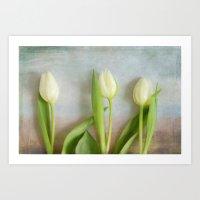 Tulips - JUSTART © Art Print