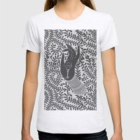 God's hand Womens Fitted Tee Ash Grey SMALL