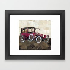 1912 Renault type CB coupe de ville Framed Art Print