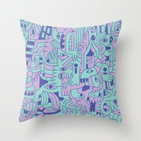 Emetophobia! (Chapter 1) Throw Pillow