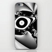 Black And White Fractal … iPhone & iPod Skin