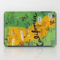 Postcard From California iPad Case