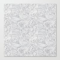 labyrinthe Canvas Print