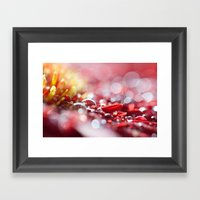 Red For Today Framed Art Print
