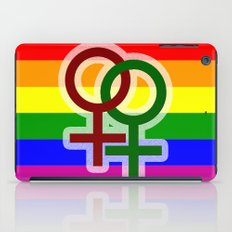 LGBT Lesbian iPad Case