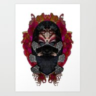 Love Comes With Silence Art Print