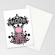 Oh Crab! (patterned) Stationery Cards