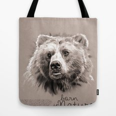 Bear (BornInNature) Tote Bag