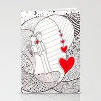 Enamorados En El Sueño … Stationery Cards