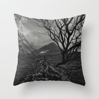 The Web Of Winter Throw Pillow