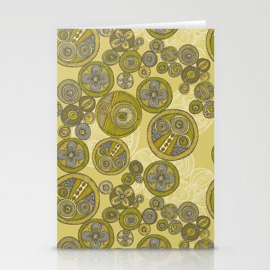 Circles Stationery Card