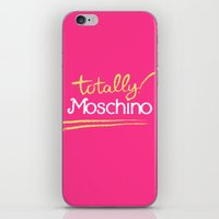 Totally Moschino iPhone & iPod Skin