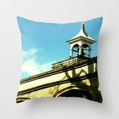 Quaint Village Throw Pillow
