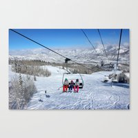 Summit Express Trio Canvas Print