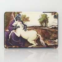 Vader And Unicorn iPad Case