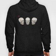 Three Skulls Hoody