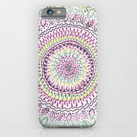 iPhone & iPod Case featuring Intricate Spring by Janet Broxon