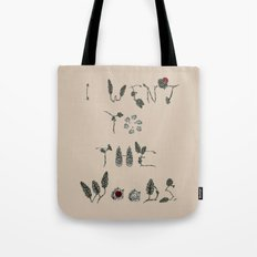 I Went To The Woods Tote Bag