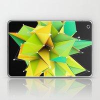 Polygons green Abstract Laptop & iPad Skin