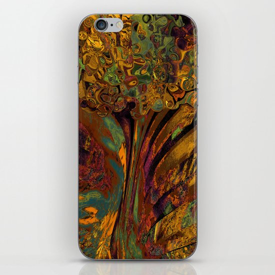 Fractal Tree 2 iPhone & iPod Skin