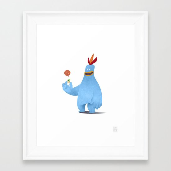 Chirpy Chick Framed Art Print