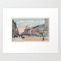 North Pearl Street, Alba… Art Print
