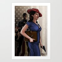 Secret Agent Art Print