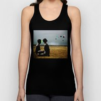 The Looking Field Unisex Tank Top