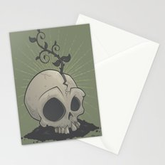 Skull Garden Stationery Cards