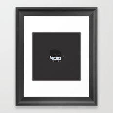 Dicey Little Guy Framed Art Print