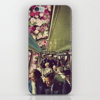 subway iPhone & iPod Skin
