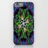 iPhone & iPod Case featuring Internal Kaleidoscopic Daze-8 by Jay's Bizangos