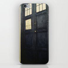 Doctor Who: Time and Relative Dimension in Space iPhone & iPod Skin
