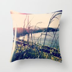 Floral Sunsets In May Throw Pillow