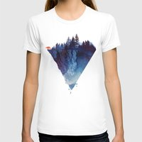 nature T-shirts featuring Near to the edge by Robert Farkas