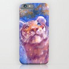 Waiting for the stars (tiger, big cat, cat, kitty, kitten, gato, chat) Slim Case iPhone 6s