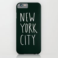 nyc iPhone & iPod Cases featuring NYC by Leah Flores