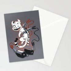 Cybercat Charges Up Stationery Cards