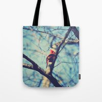 Winter Sonnet Tote Bag