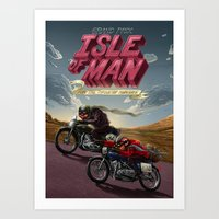 Isle Of Man Art Print