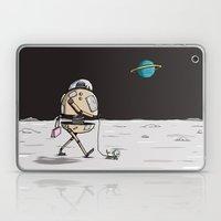 On the moon 1 Laptop & iPad Skin