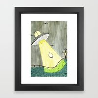 Abduction Framed Art Print